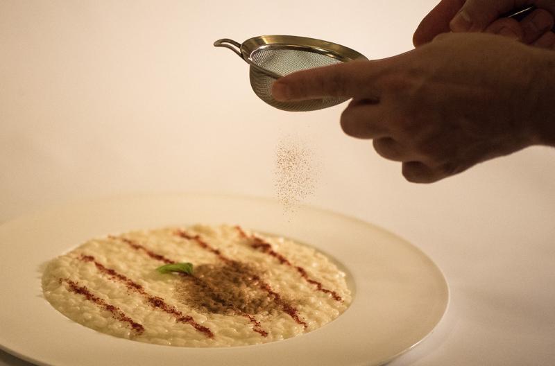 2CUCINA la-veranda-del-color-bardolino-gourmet-michelin-risotto