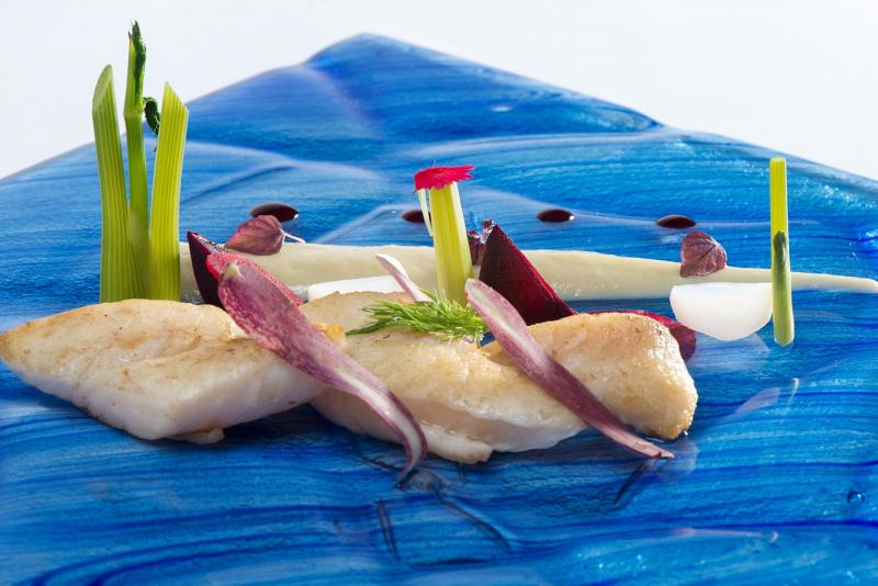 CHEF Fabio-Cordella-La-veranda-del-color-fish-design-color-gourmet